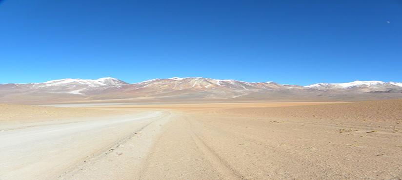 Woestijn van Bolivia
